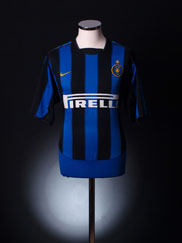 2003-04 Inter Milan Home Shirt M.Boys