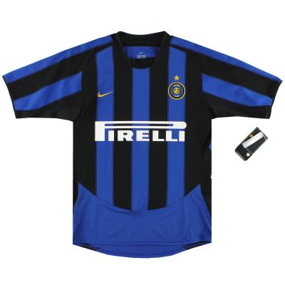 2003-04 Inter Nike Inter Milan Home Shirt *w/tags S