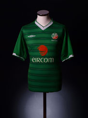 2003-04 Ireland Home Shirt S.Boys
