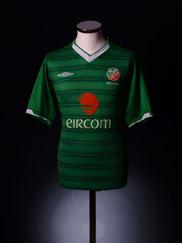 2003-04 Ireland Home Shirt S.Boys