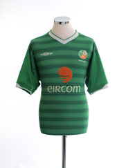 2003-04 Ireland Home Shirt L