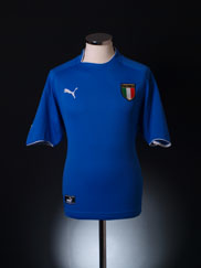 2003-04 Italy Home Shirt L