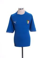 2003-04 Italy Home Shirt XL