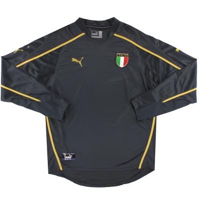 2003-04 Italy Puma Goalkeeper Shirt XL