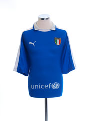 2003-04 Italy Training Shirt L
