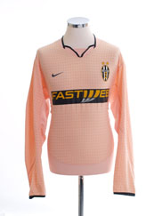 2003-04 Juventus Away Shirt L/S L