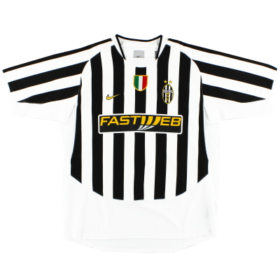 2003-04 Juventus Home Shirt *Mint* XL