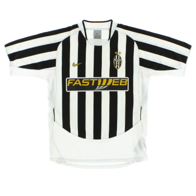 2003-04 Juventus Home Shirt M
