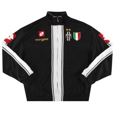 2003-04 Juventus Lotto Track Jacket L