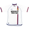 2003-04 Lyon Umbro Home Shirt Carriere #10 XL