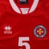 2003-04 Malta Match Issue Home Shirt #5 XXL
