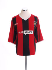 2003-04 Manchester City Away Shirt L