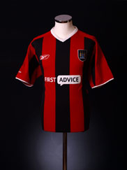 2003-04 Manchester City Away Shirt