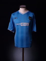 2003-04 Manchester City Home Shirt XL