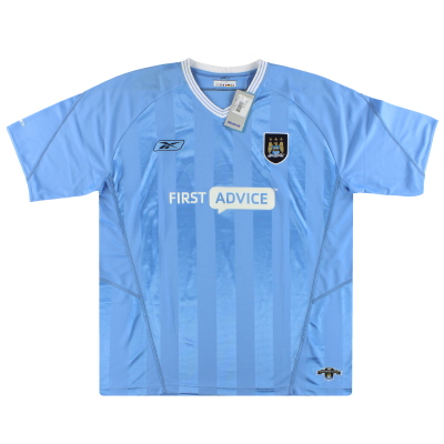 2003-04 Manchester City Reebok Home Shirt *w/tags* XL