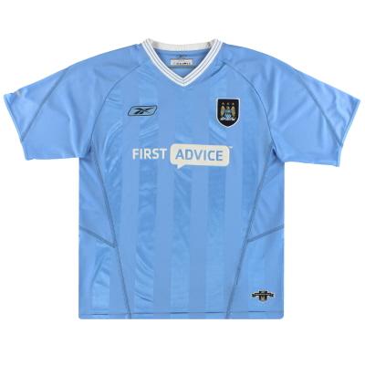 2003-04 Manchester City Reebok Home Shirt XXL