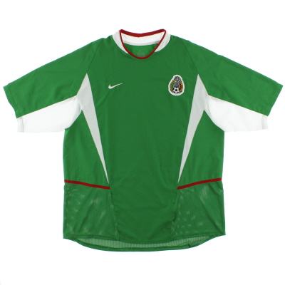 2003-04 Mexico Home Shirt XL