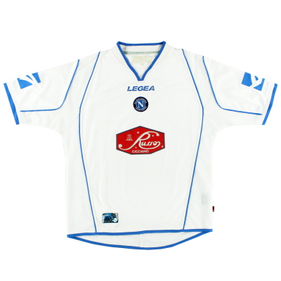 2003-04 Napoli Away Shirt L