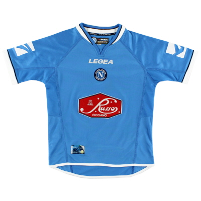 2003-04 Napoli Home Shirt XL
