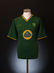 2003-04 Norwich City Away Shirt M