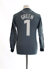 2003-04 Norwich City Goalkeeper Shirt Green #1 S