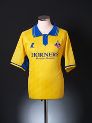 2003-04 Oldham Away Shirt XL