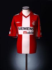 2003-04 Olympiakos Home Shirt *Mint* M