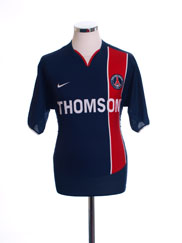 2003-04 Paris Saint-Germain Home Shirt M