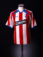 2003-04 Rangers Away Shirt L