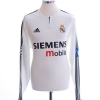 2003-04 Real Madrid CL Home Shirt Beckham #23 L/S M