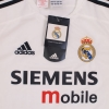2003-04 Real Madrid Home Shirt *BNWT* S