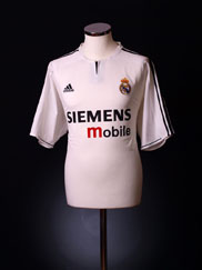 2003-04 Real Madrid Home Shirt XL