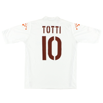 2003-04 Roma Away Shirt Totti #10 L