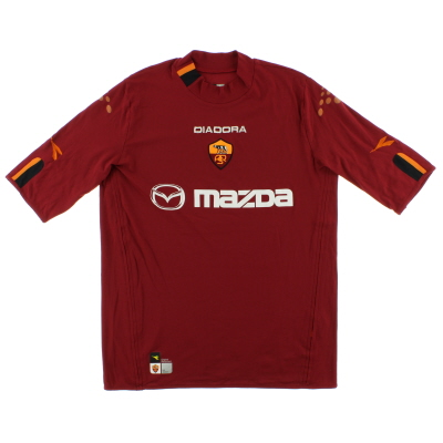 2003-04 Roma Home Shirt L