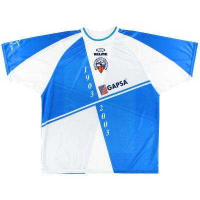 2003-04 Sabadell Centenary Home Shirt XL