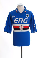 2003-04 Sampdoria Home Shirt L
