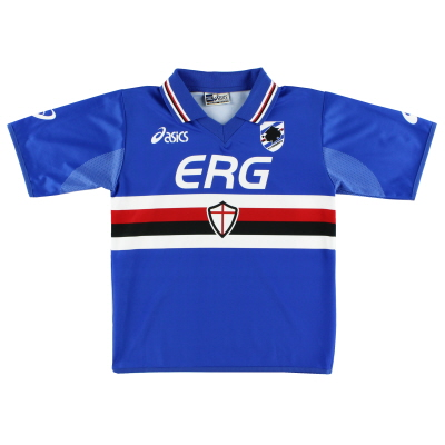 2003-04 Sampdoria Home Shirt S