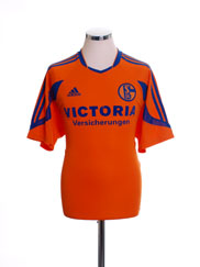 2003-04 Schalke Away Shirt S