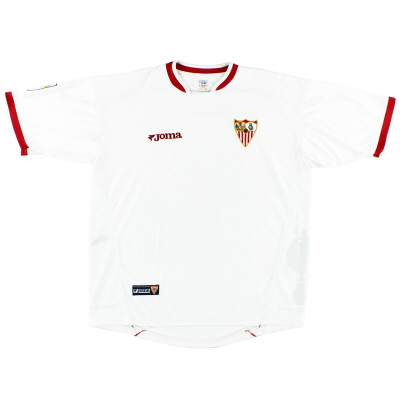 2003-04 Sevilla Home Shirt XL