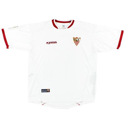 2003-04 Sevilla Home Shirt XL