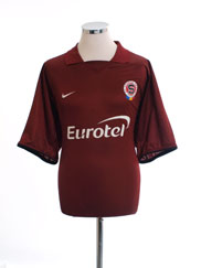 2003-04 Sparta Prague Home Shirt XL