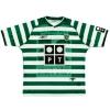 2003-04 Sporting Lisbon Home Shirt Joao Pinto #25 XL