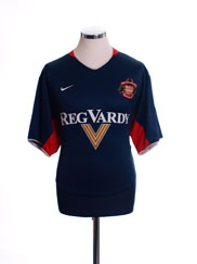 2003-04 Sunderland Away Shirt L