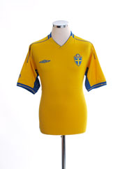 2003-04 Sweden Home Shirt M