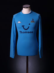 2003-04 Tottenham Away Shirt L/S XXL
