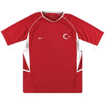 2003-04 Turkey Nike Home Shirt L