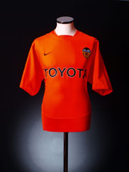 2003-04 Valencia Away Shirt XL