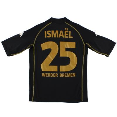 2003-04 Werder Bremen Third Shirt Ismael #25 M