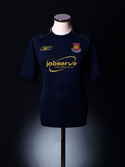 2003-04 West Ham Away Shirt S