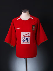 2003-04 Wrexham Home Shirt XL